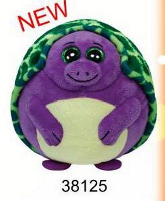 Obrázok Beanie Ballz želva fialová 12,5cm