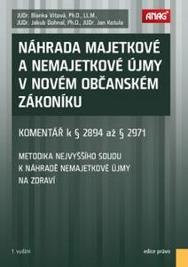 Obrázok Náhrada majetkové a nemajetkové újmy v novém občanském zákoníku