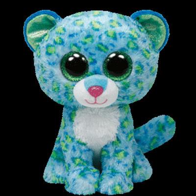 Obrázok Plyš očka střední leopard modrý