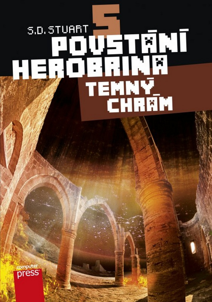 Povstání Herobrina 5 Temný chrám - S.D. Stuart