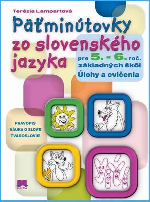 Obrázok Päťminútovky zo slovenského jazyka pre 5. - 6. roč. základných škôl
