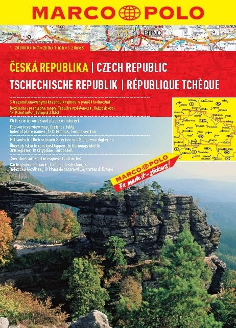 Autoatlas Česká republika 1:200 000 spirála