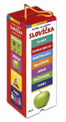 Obrázok Knižky vo vežičke Slovíčka