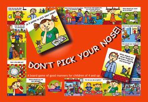 Obrázok Don´t pick your nose!