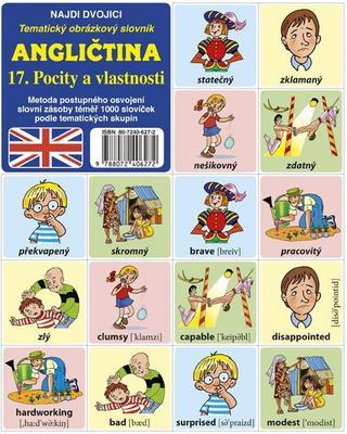 Obrázok Angličtina 17. Pocity a vlastnosti