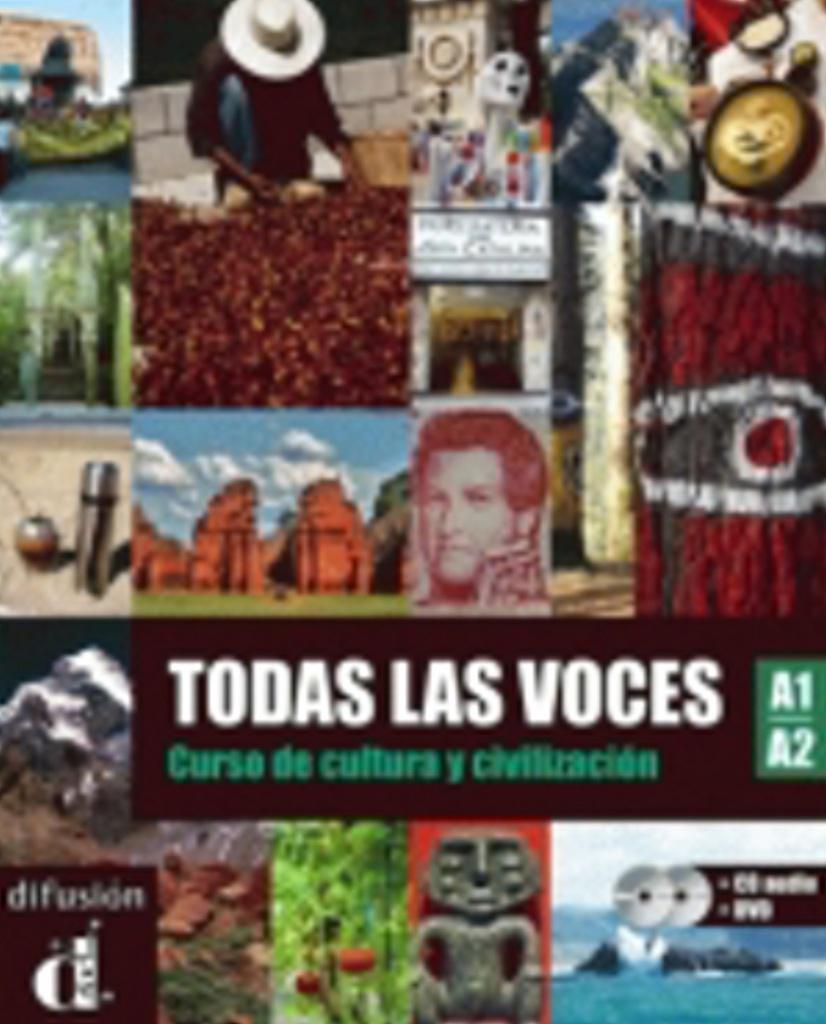 Todas las voces A1-A2 – Libro del alumno (CD audio + DVD)