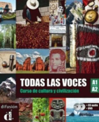 Obrázok Todas las voces A1-A2 – Libro del alumno (CD audio + DVD)