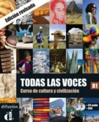 Obrázok Todas las voces B1 - Libro del alumno