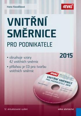 Obrázok Vnitřní směrnice pro podnikatele 2015 + CD