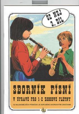 Obrázok Sborník písní v úpravě pro zobcové flétny. 3.díl