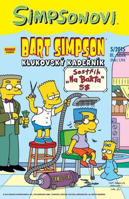 Obrázok Bart Simpson Klukovský kadeřník