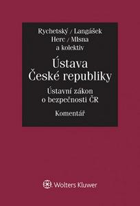 Obrázok Ústava České republiky Ústavní zákon o bezpečnosti ČR