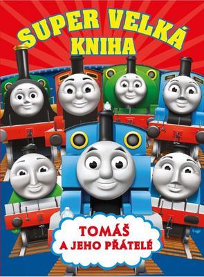 Obrázok Super velká kniha Tomáš a jeho přátelé
