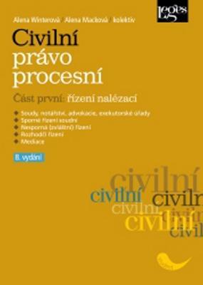 Obrázok Civilní právo procesní část první Řízení nalézací