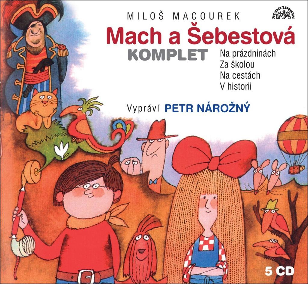 Mach a Šebestová Komplet - Miloš Macourek