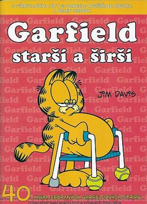 Obrázok Garfield starší a širší