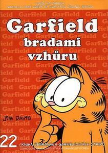 Obrázok Garfield bradami vzhůru