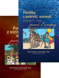 Balíček 2 ks Povídky z pobřeží, ostrovů a jiných míst a Povídky z ostrovů a pob.