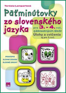 Obrázok Päťminútovky zo slovenského jazyka pre 3. - 4. roč. základných škôl