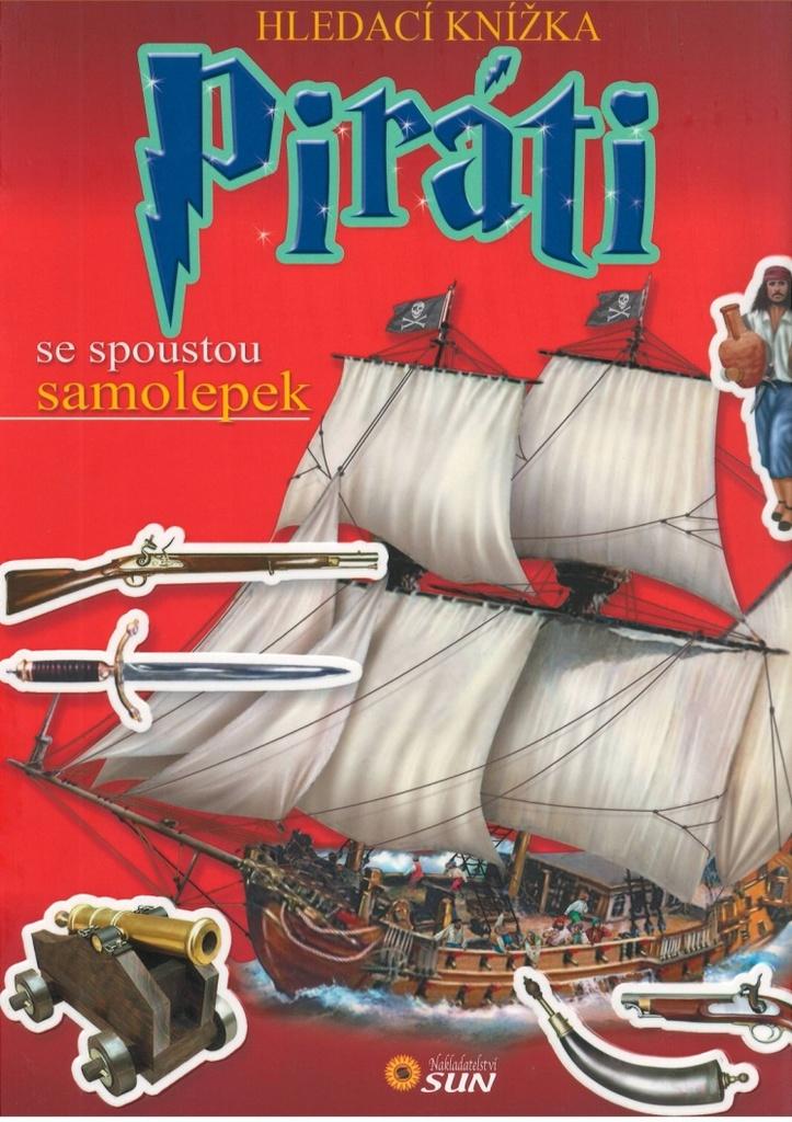 Hledací knížka Piráti