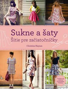 Obrázok Sukne a šaty Šitie pre začiatočníčky
