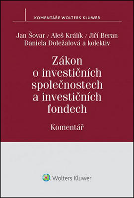 Obrázok Zákon o investičních společnostech a investičních fondech