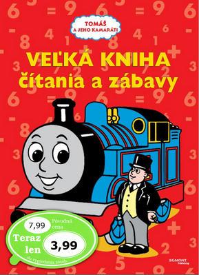 Obrázok Veľká kniha čítania a zábavy Tomáš a jeho kamaráti