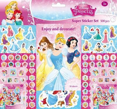 Super sticker set 500 kusů Princezny