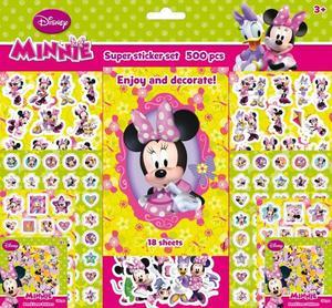 Obrázok Super sticker set 500 kusů Minnie
