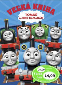 Obrázok Veľká kniha Tomáš a jeho kamaráti