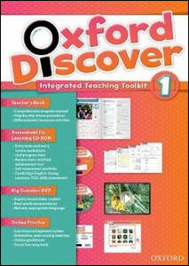 Obrázok Oxford Discover 1 Teacher´s Book with Integrated Teaching Toolkit