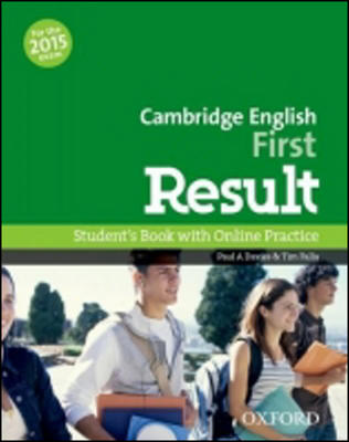 Obrázok Cambridge English First Result Student´s Book with Online Practice Test