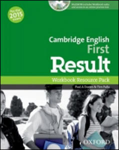 Obrázok Cambridge English First Result Workbook without Key with Audio CD