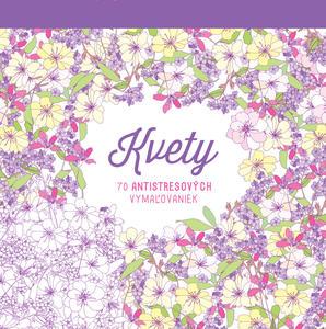 Obrázok Kvety 70 antistresových vymaľovaniek