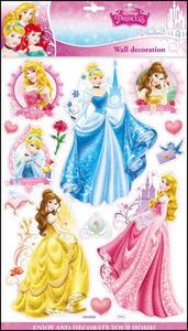 Obrázok 3D samolepky na zeď Princezny