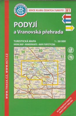 Obrázok KČT 81 Podyjí a Vranovská přehrada