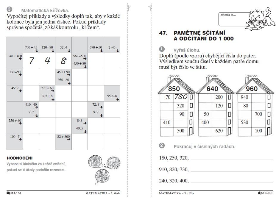 Matematika Nanecisto Petiminutovky Pro 3 Tridu Zs Knihcentrum Cz