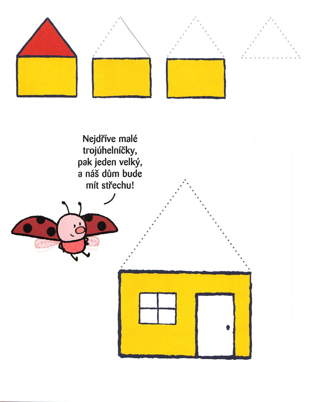 Matýsek nakresli mi...dům + pastelky. Pracovní sešit pro děti 3-6 let ... 45a39be916