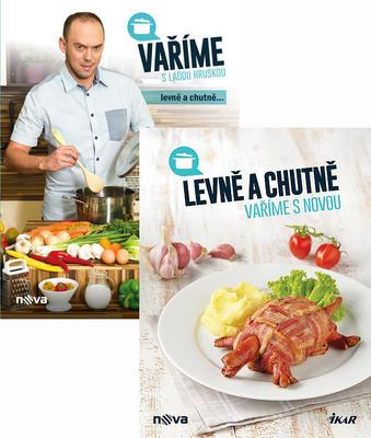 Vaříme s Láďou Hruškou levně a chutně + Levně a chutně vaříme s Novou
