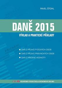 Obrázok Daně 2015 výklad a praktické příklady