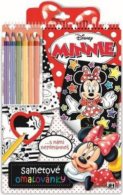 Obrázok Sametové omalovánky Minnie
