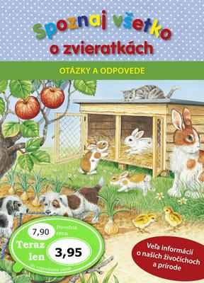 Obrázok Spoznaj všetko o zvieratkách Otázky a odpovede