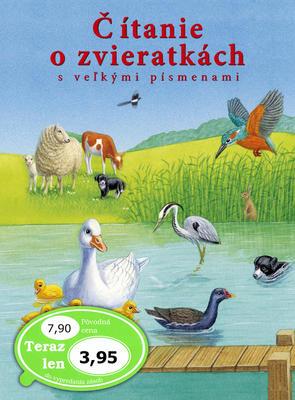 Obrázok Čítanie o zvieratkách s veľkými písmenami