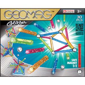 Obrázok Stavebnice Geomag Glitter 30 pcs