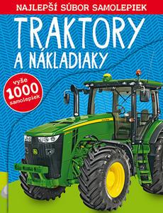 Obrázok Traktory a nákladiaky Najlepší súbor samolepiek