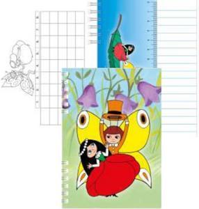 Obrázok Zápisník Maková panenka