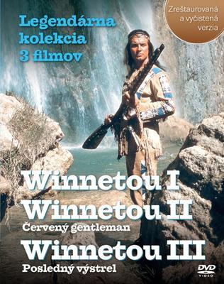 Obrázok Balíček 3 ks DVD, Winnetou I, II, III Legendárna kolekcia 3 filmov