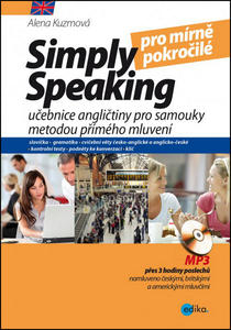 Obrázok Simply speaking pro mírně pokročilé + CD (pro mírně pokročilé)