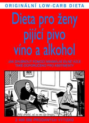 Obrázok Dieta pro ženy pijící pivo, víno a alkohol