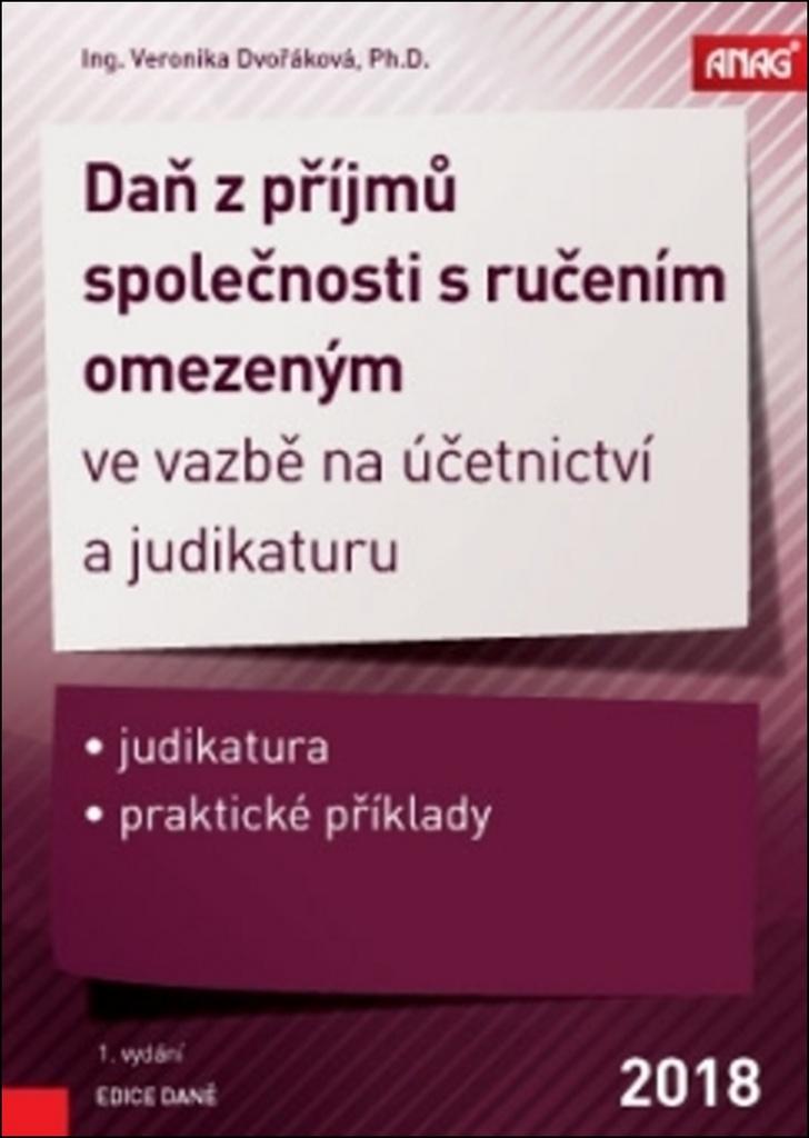 Daň z příjmů společnosti s ručením omezeným - Ing. Veronika Dvořáková Ph.D.
